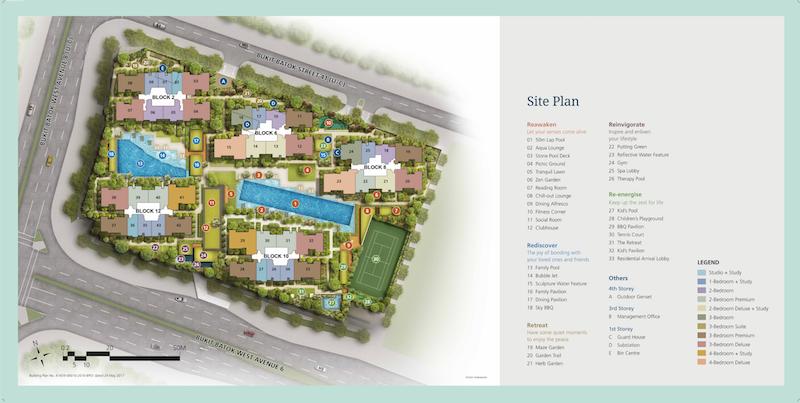 Le Quest Singapore - Le Quest Site Plan